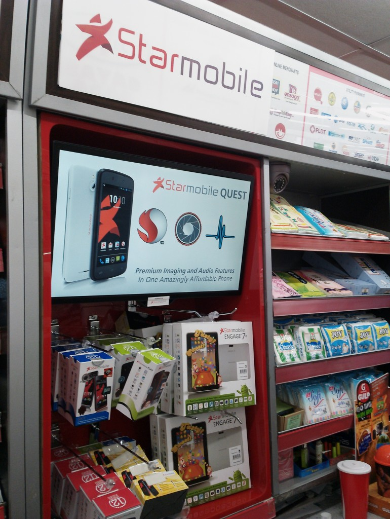 Starmobile Devices on sale at 7-Eleven Rotonda Branch, Pasig City